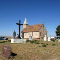Geranium (near Ord), NE: St. Wenceslaus Catholic, Скоттсблуфф