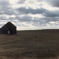 Barn somewhere west of Arnold NE 1-1989, Спрагуэ