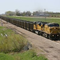 Coal on the Overland Route near Elm Creek, NE, Спрагуэ