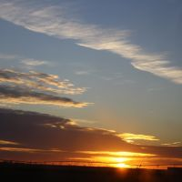 Nebraska sunset, Спрагуэ