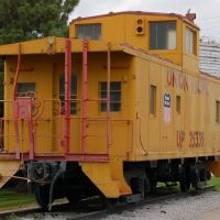 Union Pacific Railroad Caboose No. 25335 on display at Cozad, NE, Спрагуэ