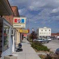 Downtown Street Scene, Burwell, Nebraska, Хастингс