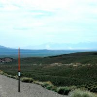 "West of Hickson Summit on U.S. 50. ""The Loneliest Road in America""., Вегас-Крик"