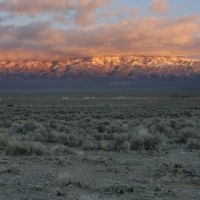Christmas Eve Sunset from near Carvers, NV - 200712LJW, Вегас-Крик