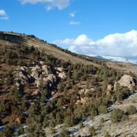Near Hickison Summit, Hwy 50, Nevada, Виннемукка