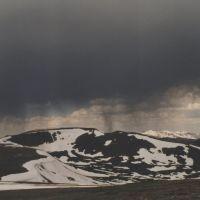 Low clouds over Mt. Jefferson Plateau, Калинт