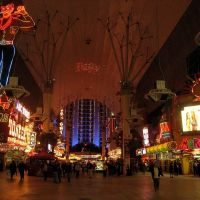 Fremont St. Las Vegas, Nevada, Лас-Вегас