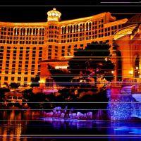 Bellagio en año nuevo..., Лас-Вегас