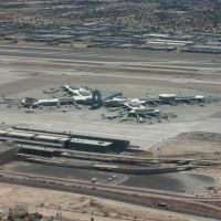 McCarron International Airport from Sundance Helicopter, Парадайс