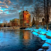 Winter Reflection, Рино