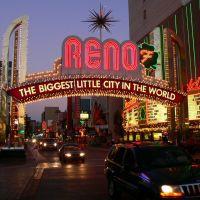 """Reno   Nevada. """"Najwieksze male miasto w swiecie"""", Рино"""