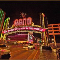 Reno Arch Welcome, Рино