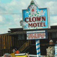 Clown Motel, Tonopah, NV, Тонопа