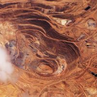 Round Mountain Gold Mine, NV, USA., Эврика