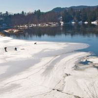 Ice Fishing-Connecticut River, Вудсвилл
