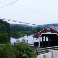 Bath - Haverhill Covered Bridge, Вудсвилл