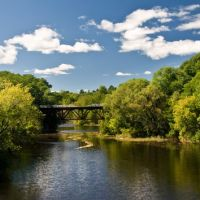 Old Rail Bridge over Cocheco River, Довер