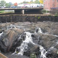 Falls in front of mill building, Довер