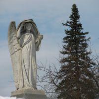graveyard statue, Конкорд