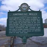 Amoskeag Mills Sign, Манчестер