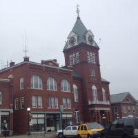 Sullivan County Court House in Newport New Hampshire., Ньюпорт