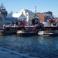 Tugboats, Portsmouth, New Hampshire, Портсмоут