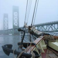 Sarah Long Bridge from Bow, Портсмоут