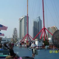Steel Pier view Atlantic City,New Jersey, Атлантик-Сити