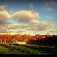 High school, stadium Demarest, NJ, United States, Бергенфилд
