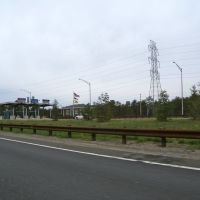 Exit 89 Toll Barrier, Брик