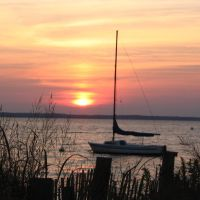 Bayside sunset Lavallette2, Бруклаун