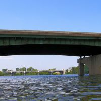 Garden State Parkway Bridge over the Passaic River, New Jersey, Гарфилд