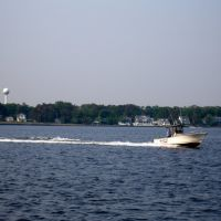 speed boat on the Toms River, Гилфорд-Парк