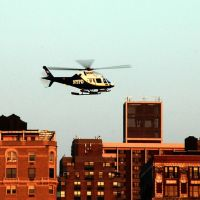 NYPD helicopter, Гуттенберг