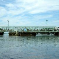 Riverside-Delanco Bridge over the Rancocas Creek, New Jersey, Деланко