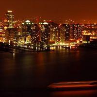 New Jersey skyline by night, Джерси-Сити