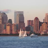 Serie Atardecer en NY sin las torres, homenaje 1 de 3, Джерси-Сити