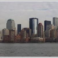 Manhattan from the Hudson River, Джерси-Сити