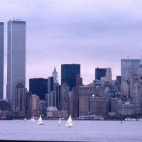 1994 9 New York Ellis Island, lower Manhattan, Джерси-Сити