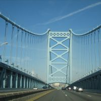 Banjamin franklin Bridge, Philadelphia, Камден