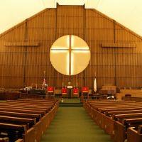 Kearney, NE: First United Methodist sanctuary, Кирни