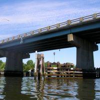 Port au Peck Avenue Bridge, Branchport Creek, Monmouth County, New Jersey, Лонг-Бранч