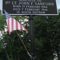 Sanford Ct. dedication, Моррис-Плайнс