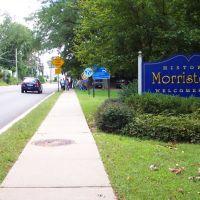 entering Morristown on Speedwell Avanue, Морристаун