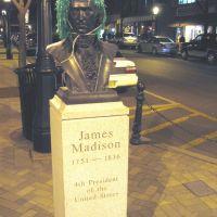 Bust of James Madison.  St. Patrickss Day 2005., Мэдисон
