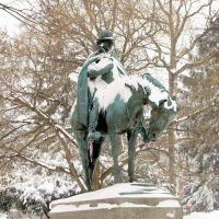 Francis Asbury statue, Drew University (Madison, NJ), Мэдисон