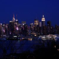New York City Skyline, Shot from Edgewater, NJ, April 2011, Норт-Берген