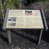 NYWS&B RR Historical Sign, Норт-Берген