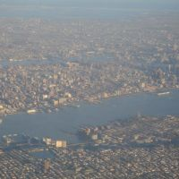 New York From Airplane, Норт-Берген