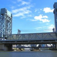 I-280 Stickel Bridge over the Passaic River, New Jersey, Ньюарк